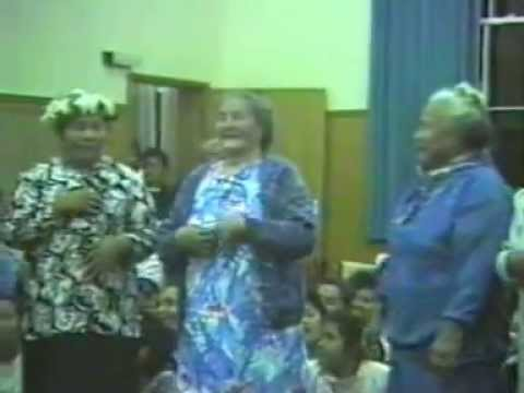 Tokelau Fatele in Auckland. Early 90