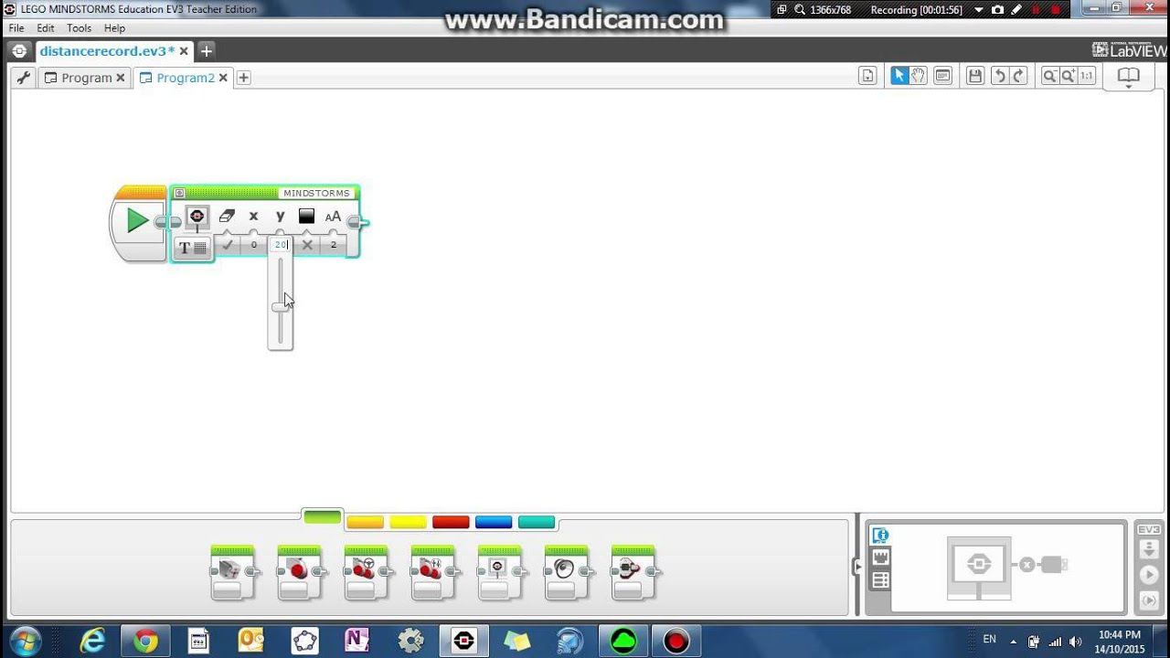 Lego Mindstorms EV3 Robotics Lesson 17 - Displaying text on screen, using brick buttons
