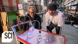 How Much Pressure is Generated by Antacid Tablets? | MythBusters