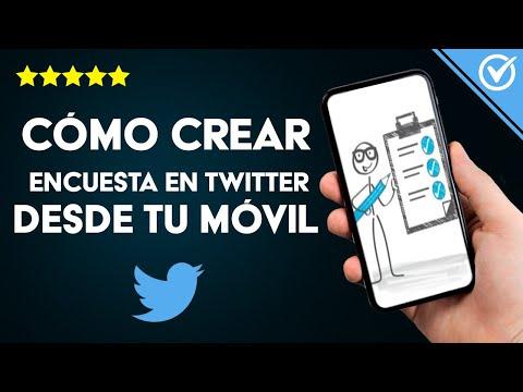 Cómo Crear una Encuesta y Preguntas en Twitter Desde mi Móvil Android