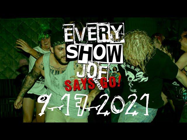 Every Show Joe Says Safely Go! 9-17-2021