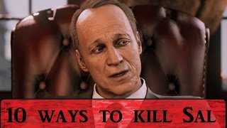 MAFIA 3: 10 Ways To Kill Sal Marcano