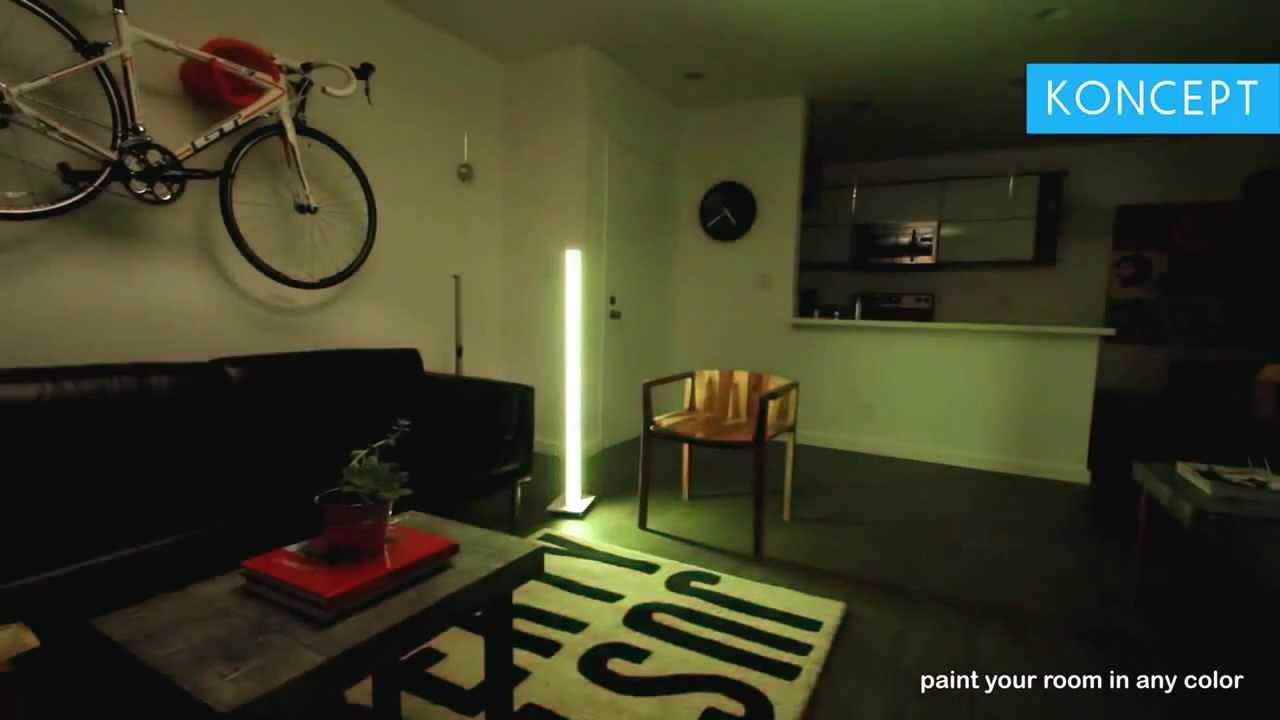 Koncept tono led mood floor light youtube aloadofball Gallery