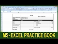 Exercise 18   Excel Practice Book   How To Make Employee Pay Slip In Ms Excel