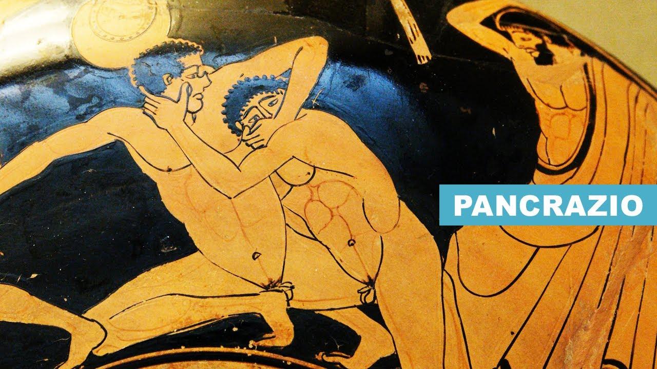 Il Pancrazio: VIOLENTISSIMA ARTE MARZIALE dell'Antica Grecia