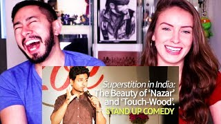 THE BEAUTY OF NAZAR: SUPERSTITION IN INDIA | Kenny Sebastian | Reaction!