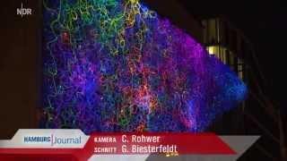 rosalie | NDR-Portrait: Lichtkünstlerin bringt Staatsoper zum Leuchten