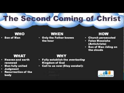 The Second Coming of Christ | Advent