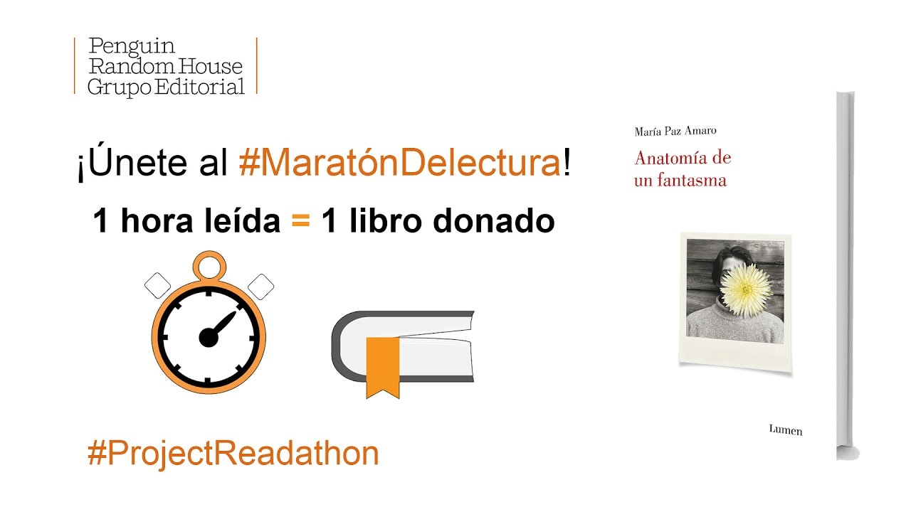 MaratónDeLectura: ANATOMÍA DE UN FANTASMA de María Paz Amaro - YouTube