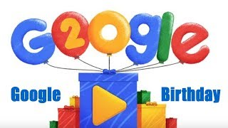 Google 20th Birthday Celebrations
