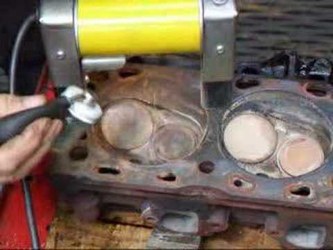 Non Destructive Testing (NDT) Ford 460 Cylinder Head