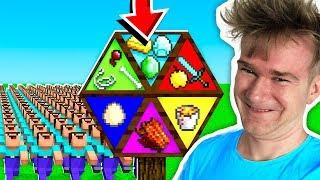 NAJGORSZE KOŁO FORTUNY Z WIDZAMI XD | Minecraft Extreme