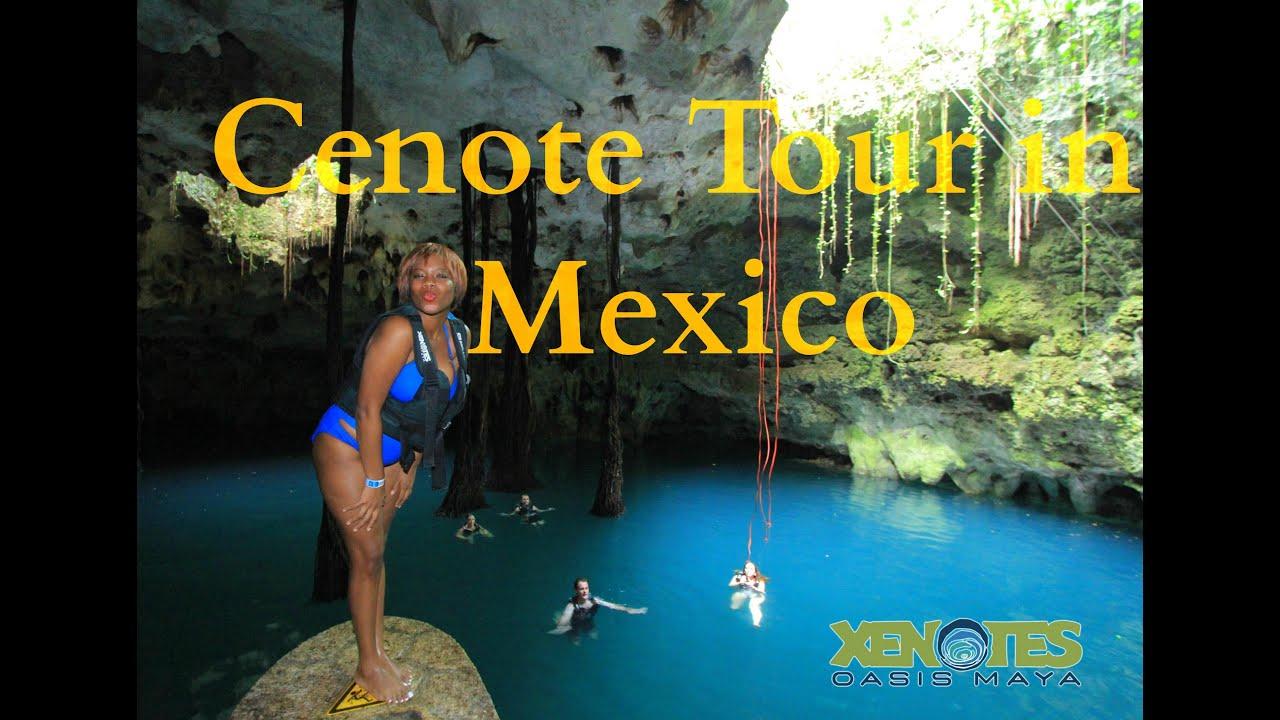 Cenote Maya Park Yucatan Youtube