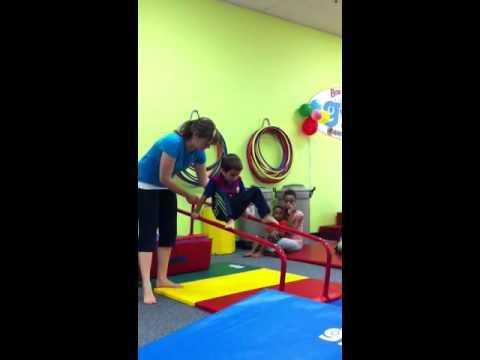 Zacharie Cloutier au gym 1
