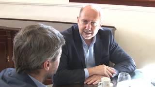 El ministro Matias Lammens en Casa de Gobierno