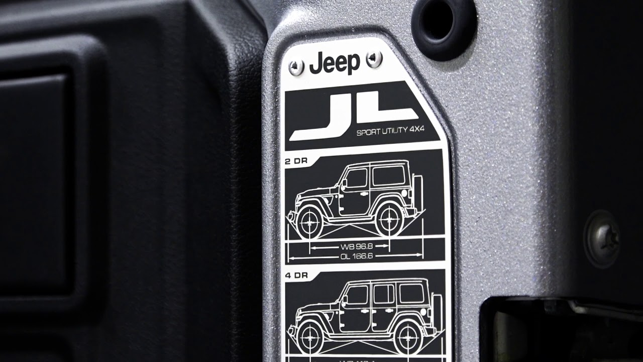 Jeep Wrangler JL Details and Easter Eggs - YouTube