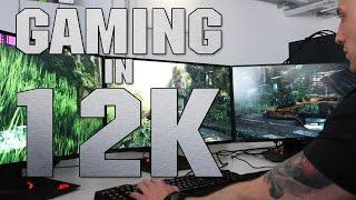 Gaming in 12K - Ein 11.000 Euro-PC, drei 4K-Monitore und viele Spiele