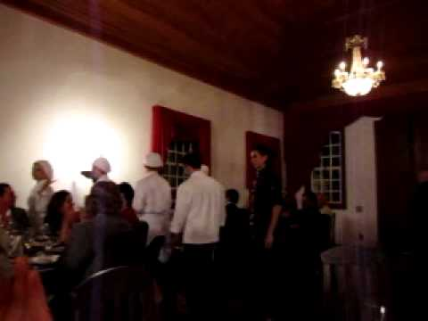 Chef Reine Sammut e seu jantar em Tiradentes