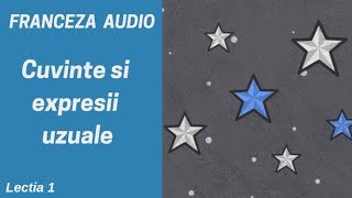 Franceza AUDIO (1) - Cuvinte si expresii uzuale in franceza (2019)