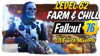 Level 62 Farm & Chill on Alt!! - NO PM Stream TONIGHT - Fallout 76 LIVE🔴 thumbnail