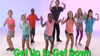 Brain Breaks | Following Directions | Physical Education | Get Up To Get Down | Jack Hartmann