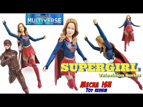 """DC Comics Multiverse 6"""" TV Series SUPERGIRL Action Figure Toy Review 2016"""