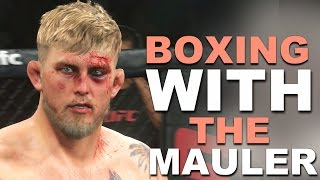 EA Sports UFC 2 Online Ranked Match - Boxing With Alexander Gustafsson