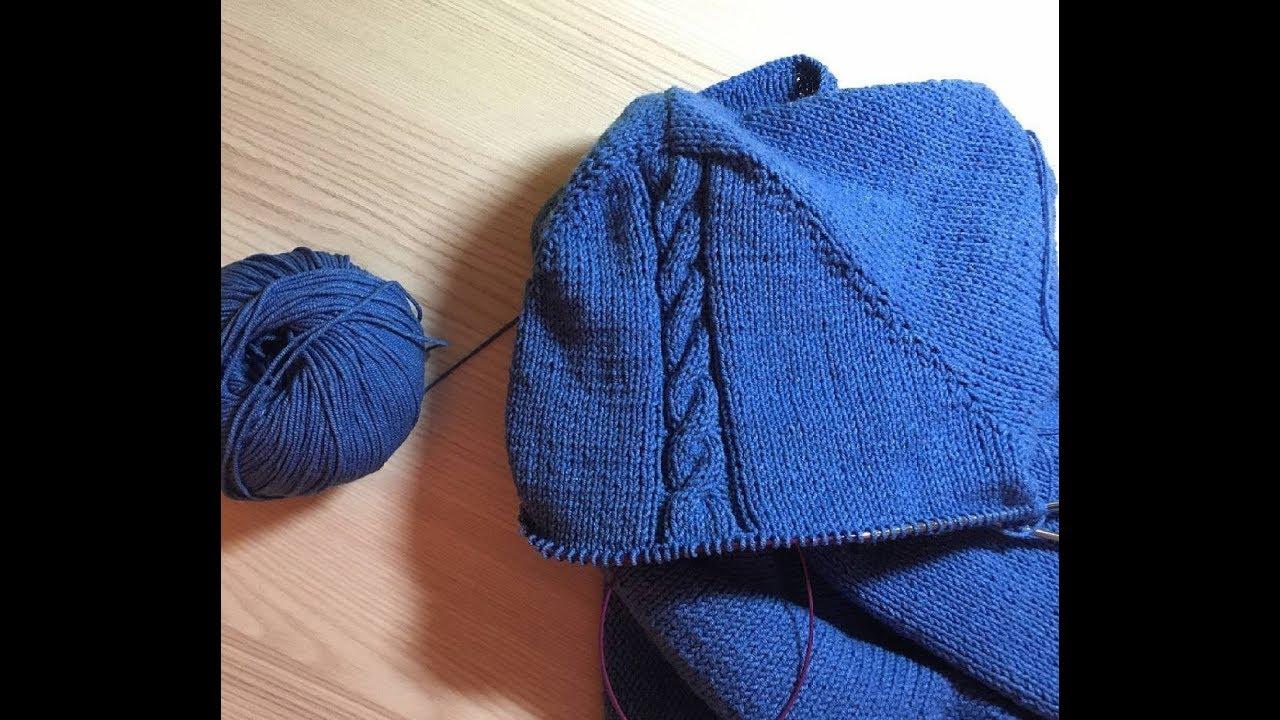 Вязание втачного рукава мастер класс