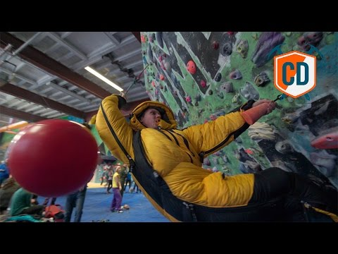 Bouldering In An Everest Down Jacket And More Madness | Climbing Daily Ep.900