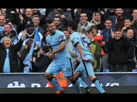 Manchester City 2-0 West Ham - GOALS: COLLINS (og), AGUERO