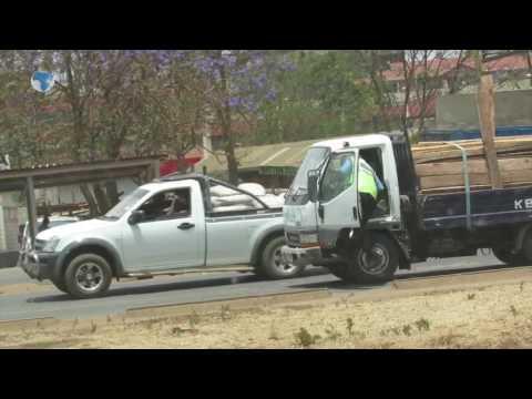 Millionare policeman caught receiving bribes on Thika-Garissa Road