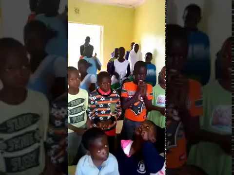 Children Signing Praises to the Lord  - GMFC / WFF Moi's Bridge Kenya