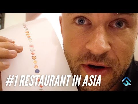 #1 Restaurant in Asia is A 25 Course Emoji Menu! GAGGAN
