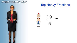 Maths the Wacky Way - Fractions