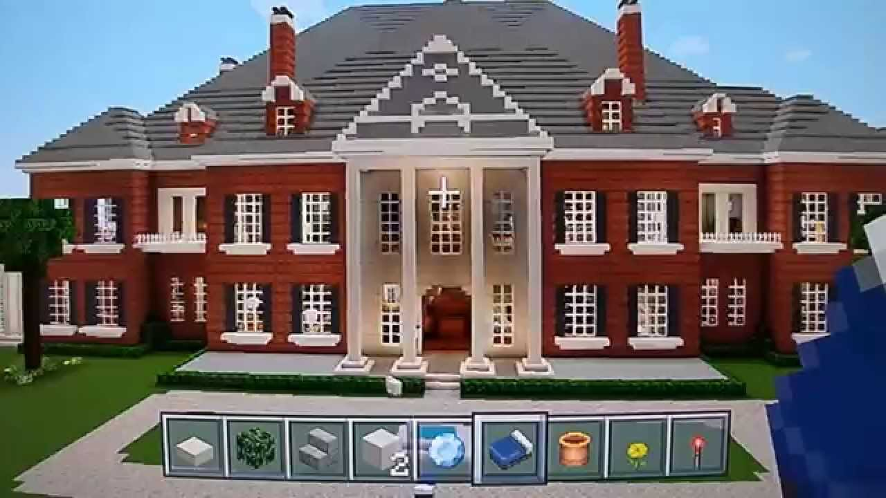 Huge minecraft mega mansion tour epic youtube for Epic house designs