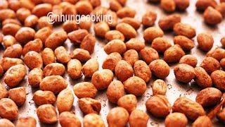 ĐẬU PHỘNG NƯỚNG NGŨ VỊ HƯƠNG / Five Spice Peanuts | Nhung Cooking