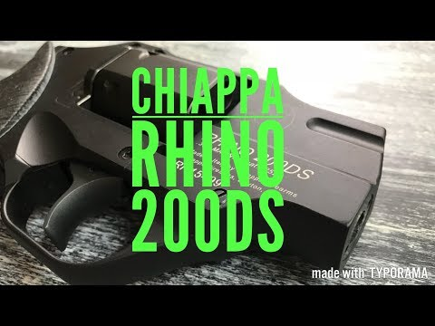 Revolver Showcase: Chiappa Rhino 200DS
