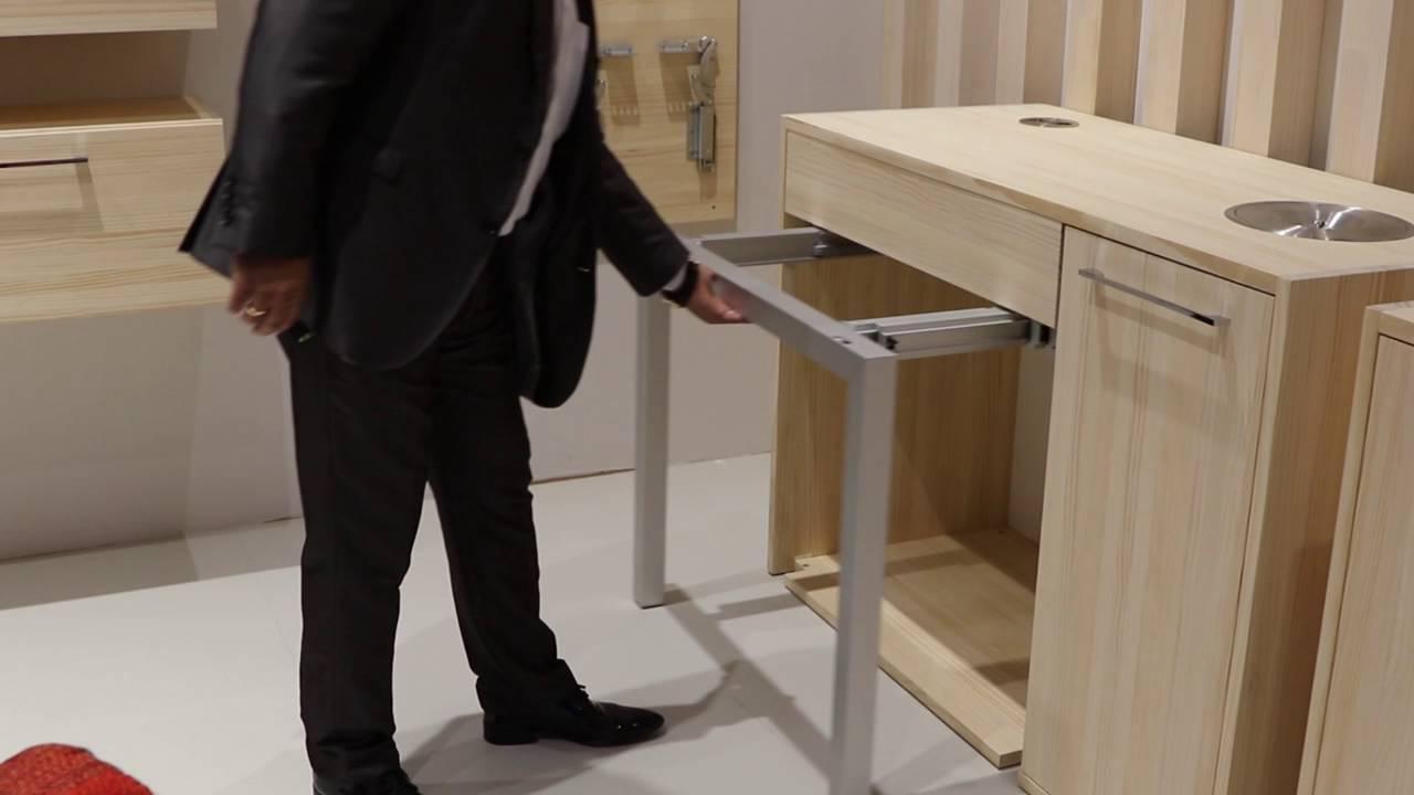 Chata sistema de gu as extensibles para mesa de cocina - Mesa extraible cocina ...