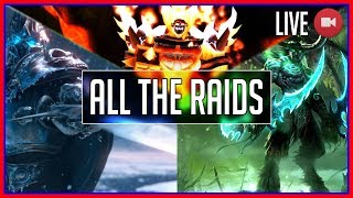 Timed Run: Farming All of WoW's Raids (Warcraft Livestream)