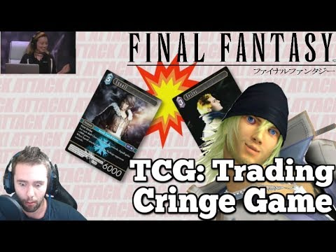 Square Enix Wins E3 2017 Cringe Award - Final Fantasy TCG is EX-CIITTINGG!