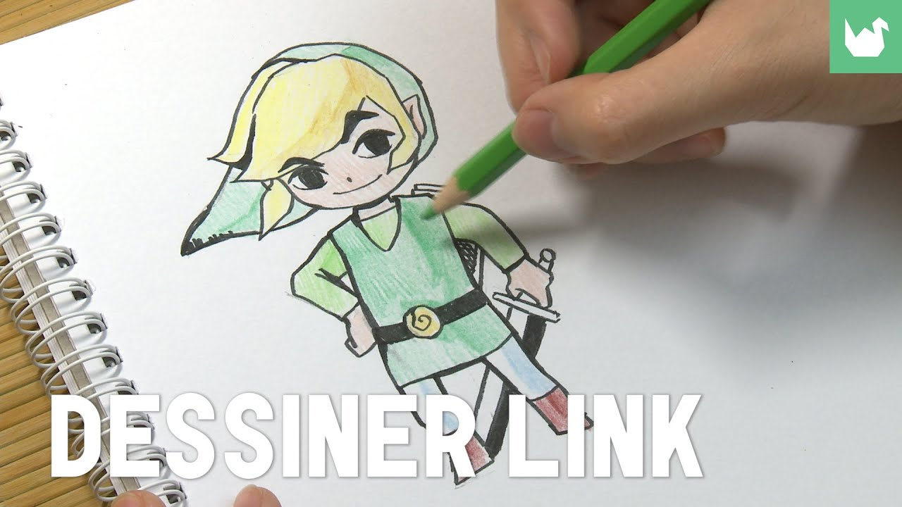 Dessiner Link-zelda - YouTube