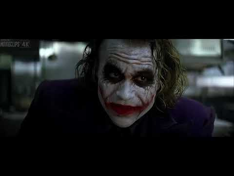 Joker Truco de Magia & Negociando HD LATINO The Dark Knight 2008