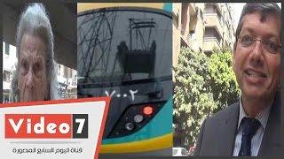 الفيديو..سكان بالزمالك عن إقامة محطة مترو: عايزينها النهاردة قبل بكرة..وآخرون: