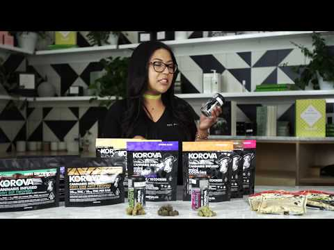 The Pottery Cannabis Dispensary Product Review Korova edibles & Flower!