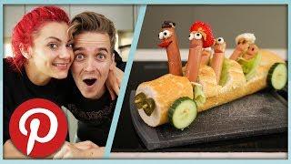MAKING PINTEREST FOOD ART!