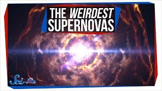 3 of the Most Peculiar Supernovas