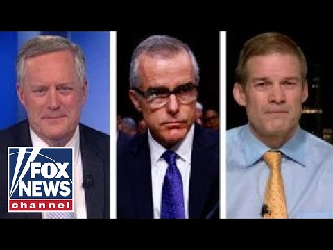 Reps. Jim Jordan and Mark Meadows: McCabe lied four times
