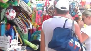 Архипо- Осиповка  атракционы,  рынок  , отдых август 2016 год(, 2016-08-07T16:31:53.000Z)