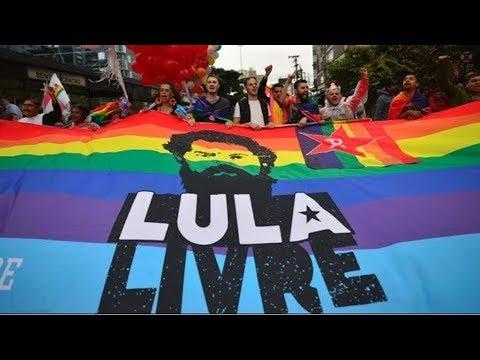 São Paulo Gay Pride Parade Supports Lula!?
