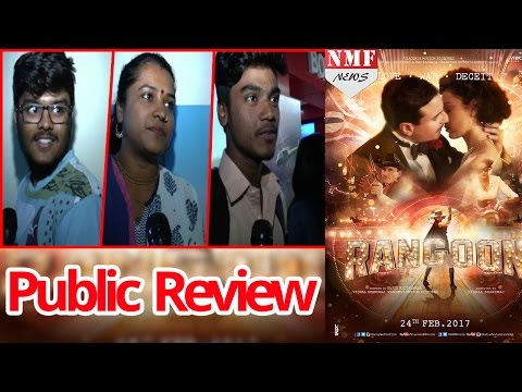Rangoon Movie Public Review | Audience Reaction | Public Talk| Shahid Kapoor, Kangana Ranaut